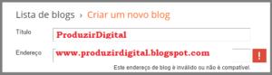 Como criar um blog gratuito2
